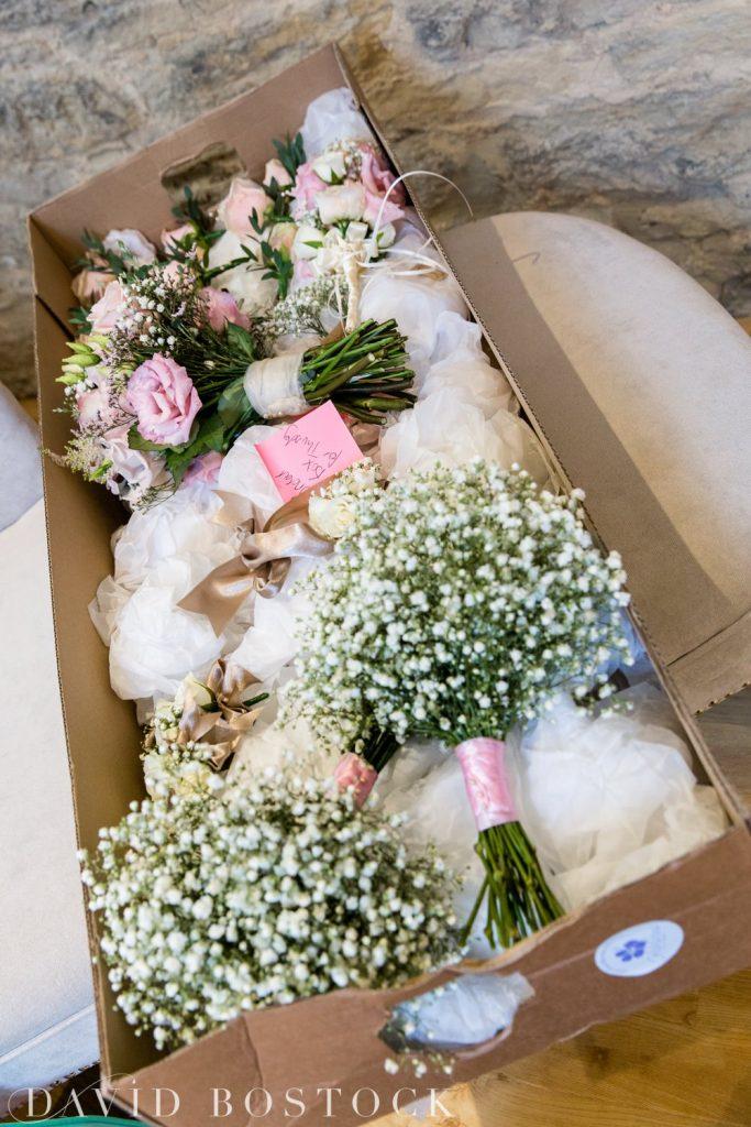 The Great Barn Aynho Wedding Photographs wedding bouquets