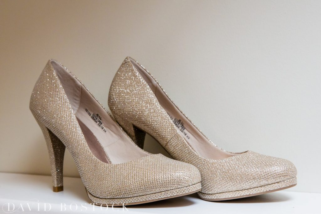 The Great Barn Aynho Wedding Photographs wedding shoes