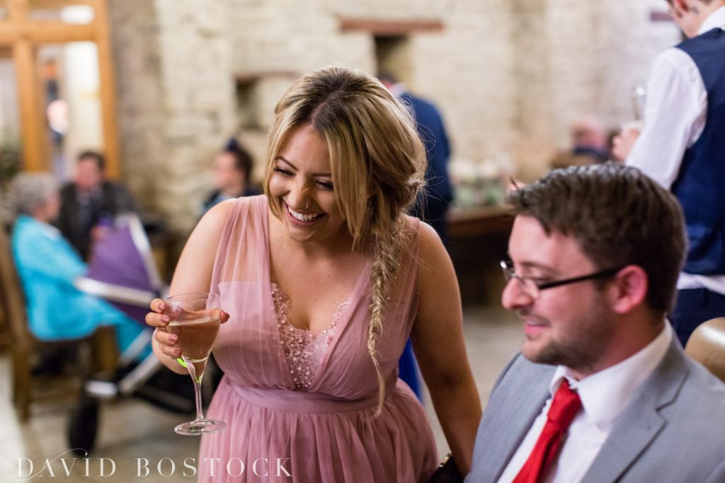 The Great Barn Aynho Wedding Photographs bridesmaid