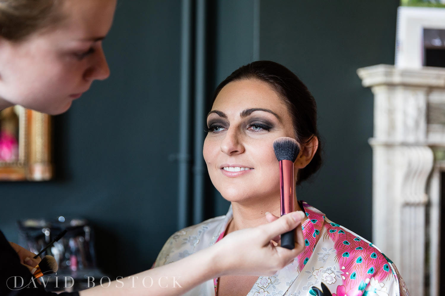 Eynsham hall wedding bridal make-up