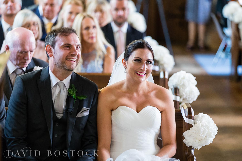 Oxfordshire wedding bride and groom