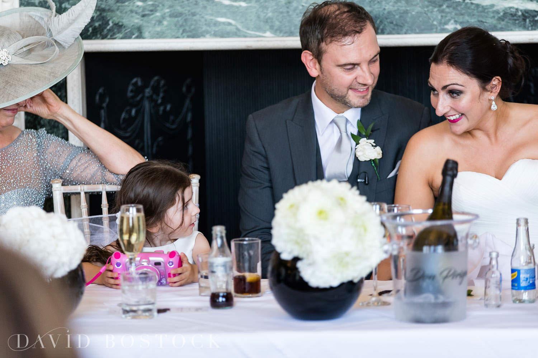 Eynsham Hall wedding photo bride and groom