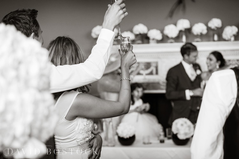 Eynsham Hall wedding photo speeches