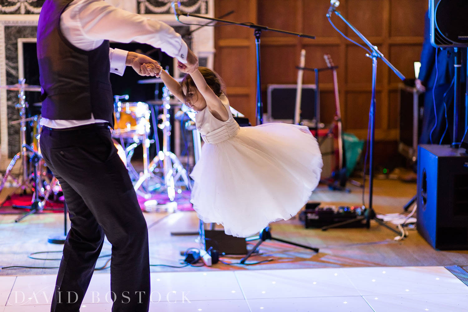 Eynsham Hall wedding photo disco