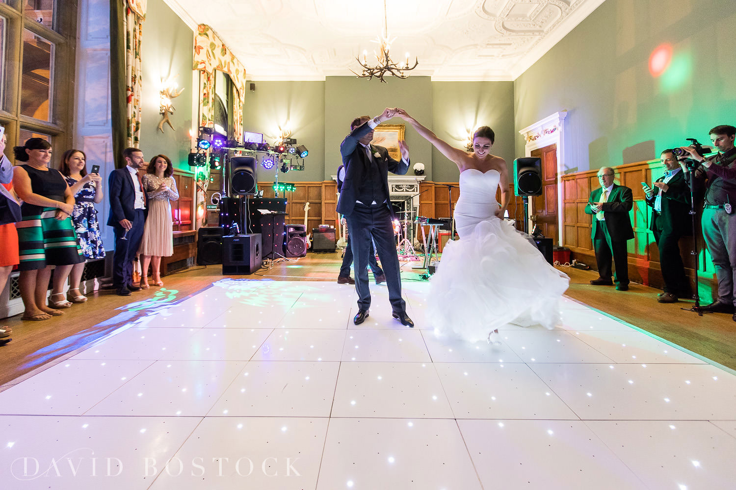 Eynsham Hall wedding photo first dance