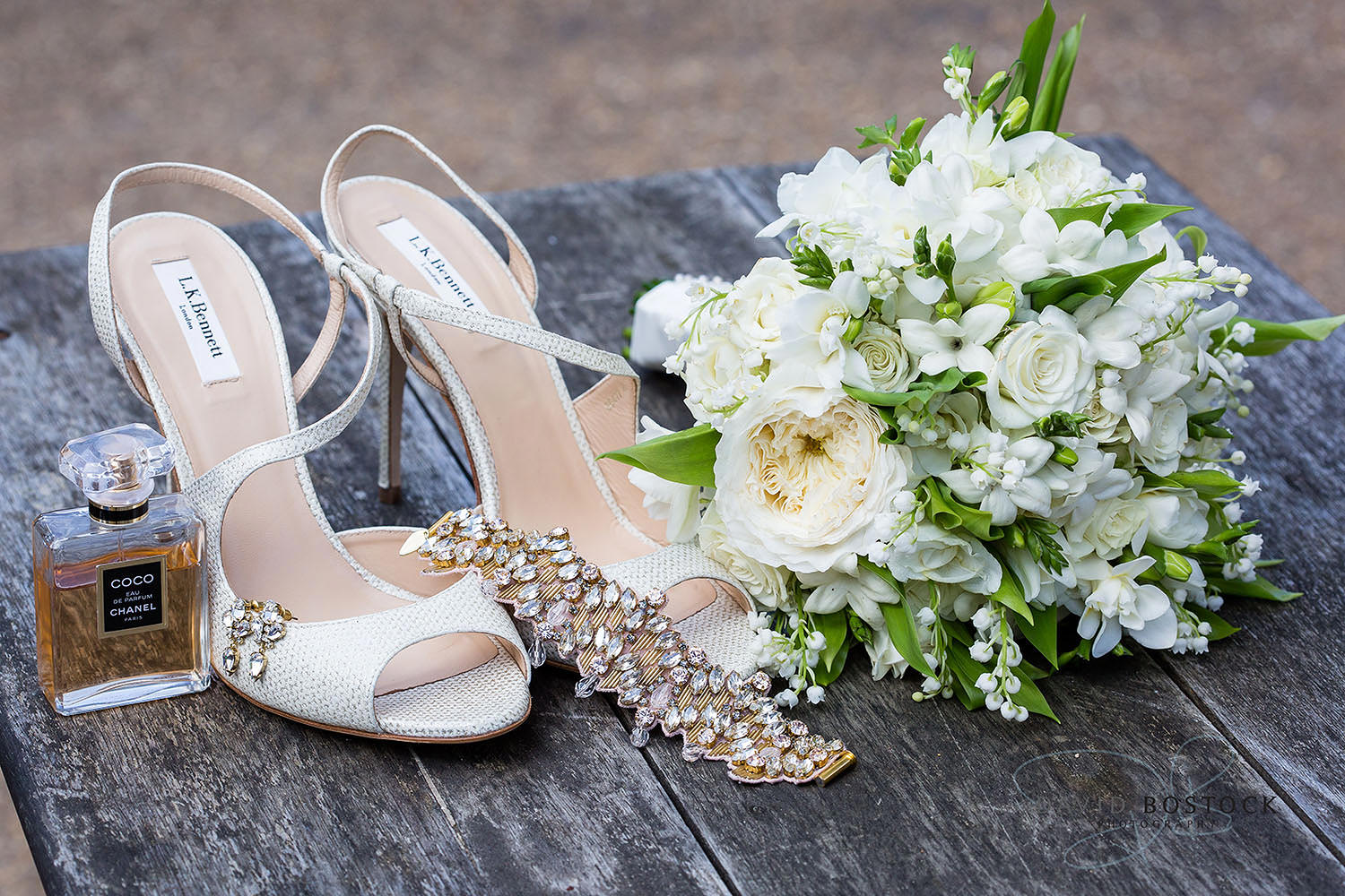 The Dairy Waddesdon wedding shoes