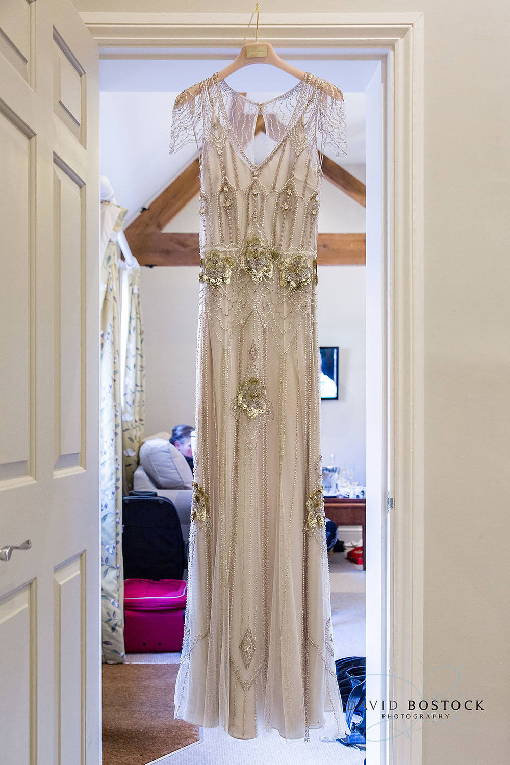 The Dairy Waddesdon Jenny Packham wedding dress