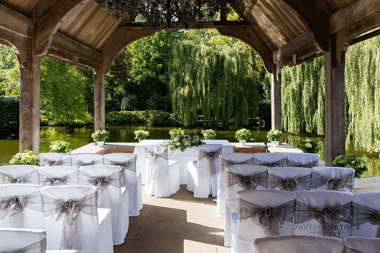 The Dairy Waddesdon wedding photo outdoor ceremony