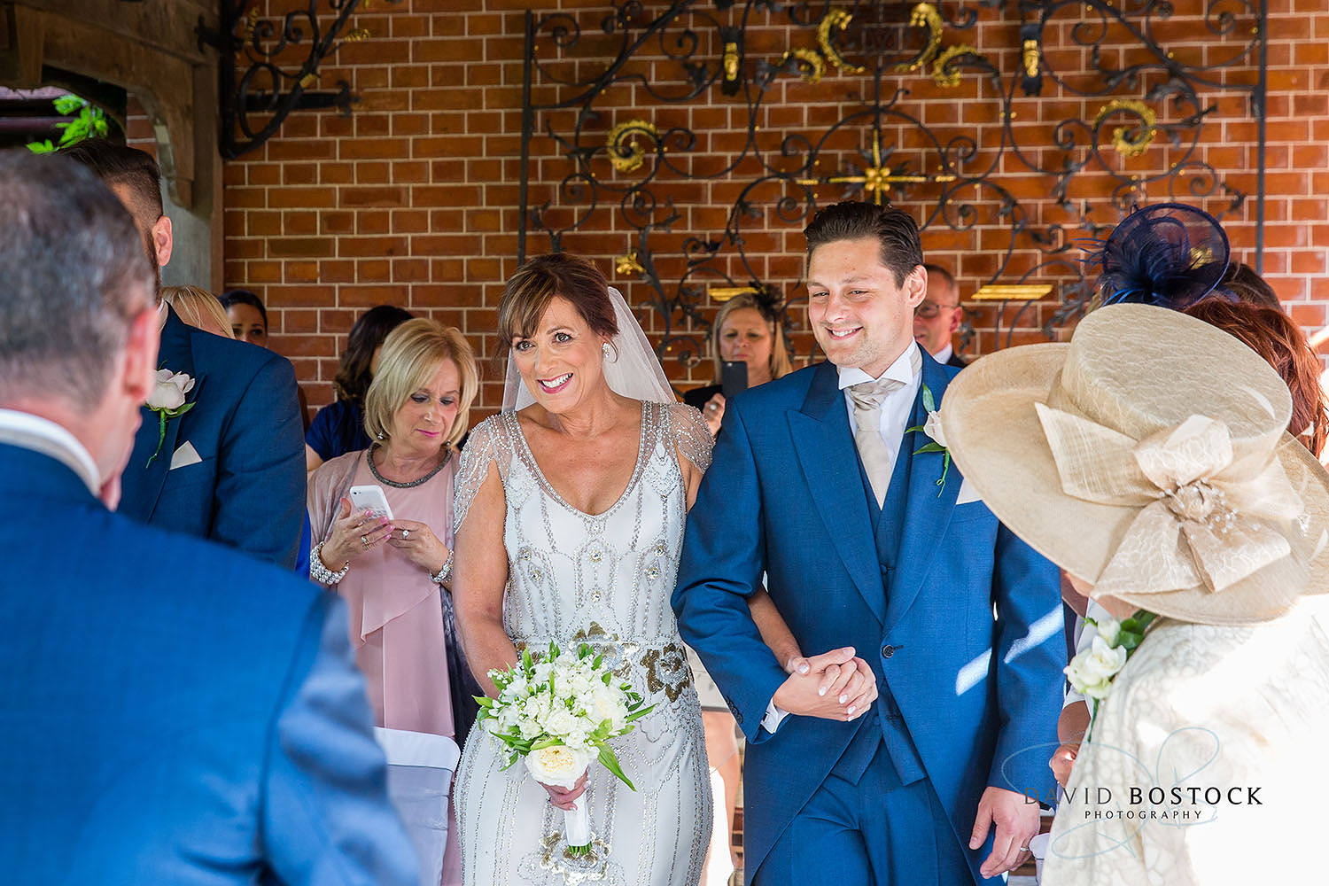 The Dairy Waddesdon wedding photo outdoor wedding