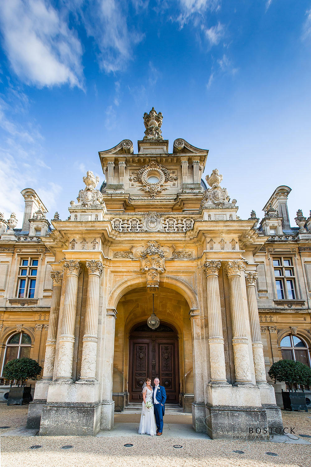 Waddesdon Manor grand wedding
