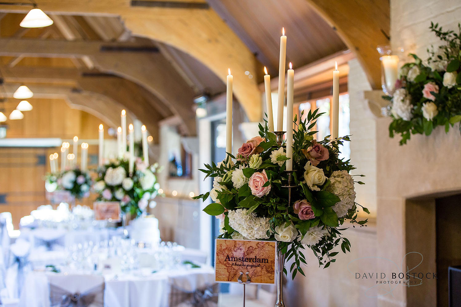 The Dairy Waddesdon wedding photo reception