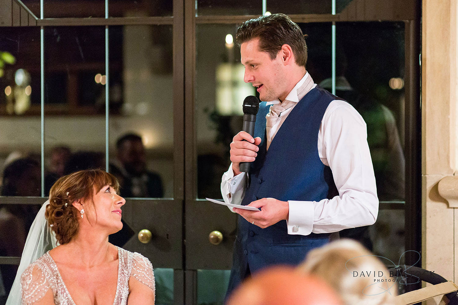 The Dairy Waddesdon wedding photo speeches