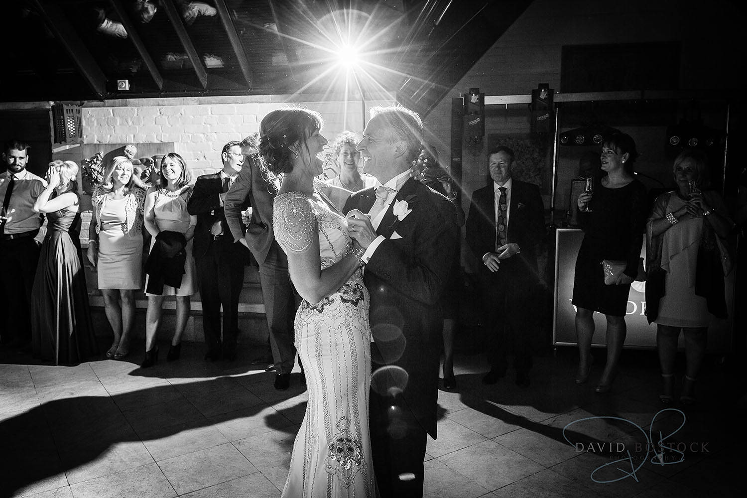 The Dairy Waddesdon wedding photo first dance