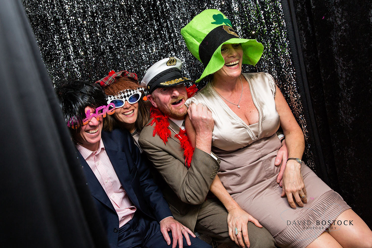 The Dairy Waddesdon wedding photo booth