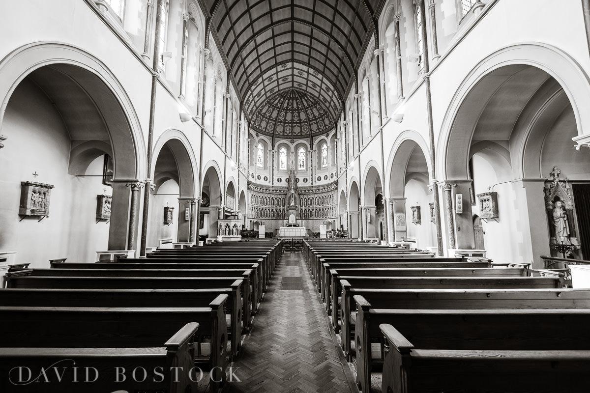 Ashmolean wedding The Oxford Oratory interior