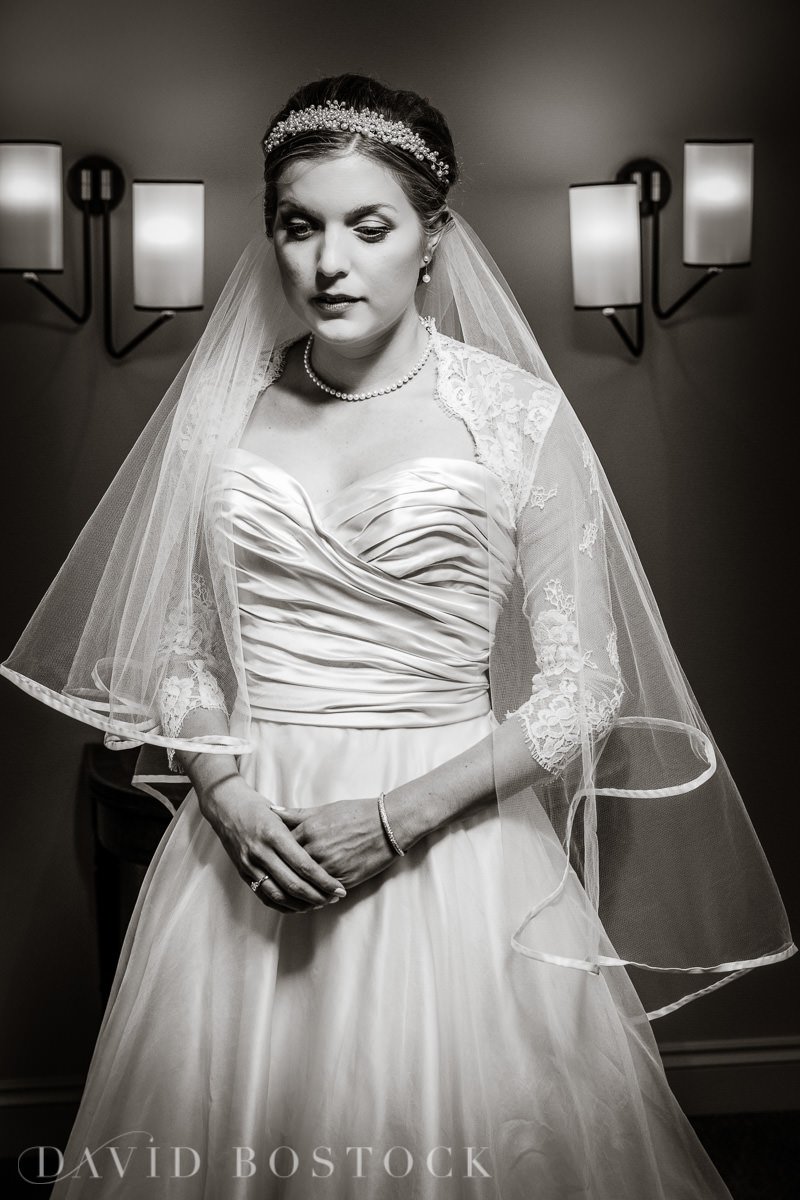 Ashmolean wedding bridal portrait photograph