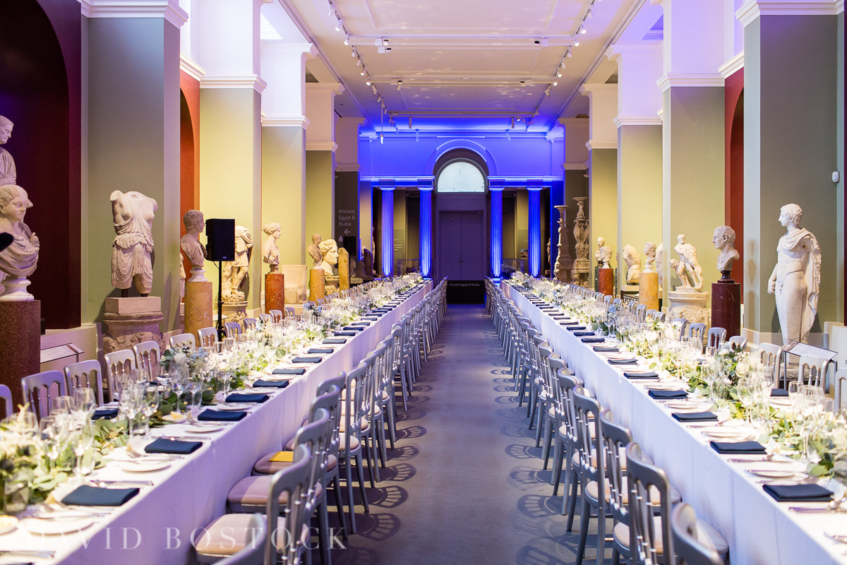 Ashmolean wedding sculpture gallery wedding breakfast