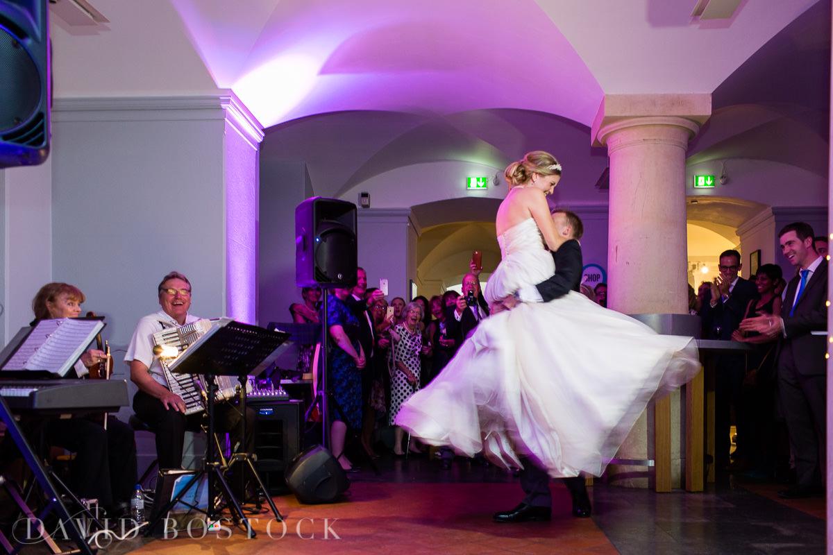 Ashmolean wedding first dance