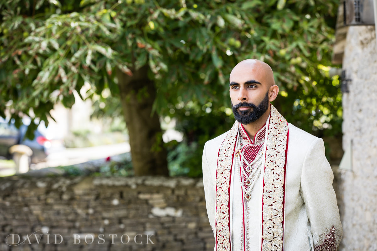 Caswell House wedding Hindu groom