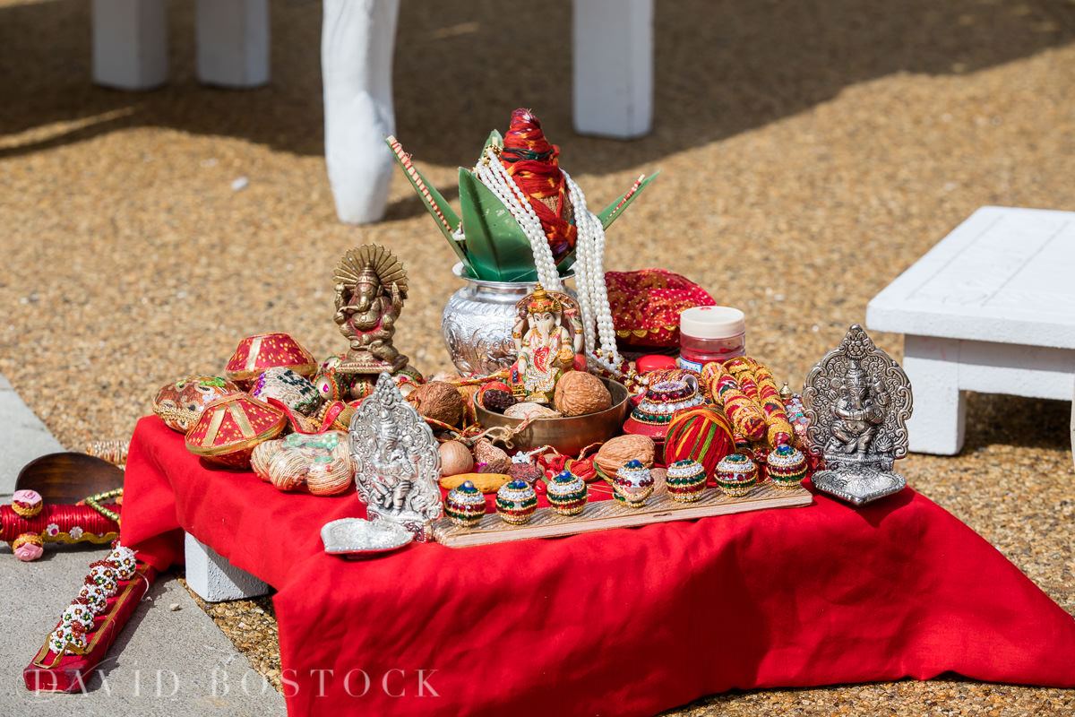 Caswell House wedding Hindu ceremony details