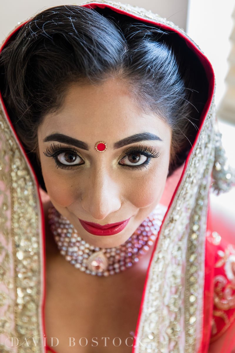 Caswell House wedding bridal make up