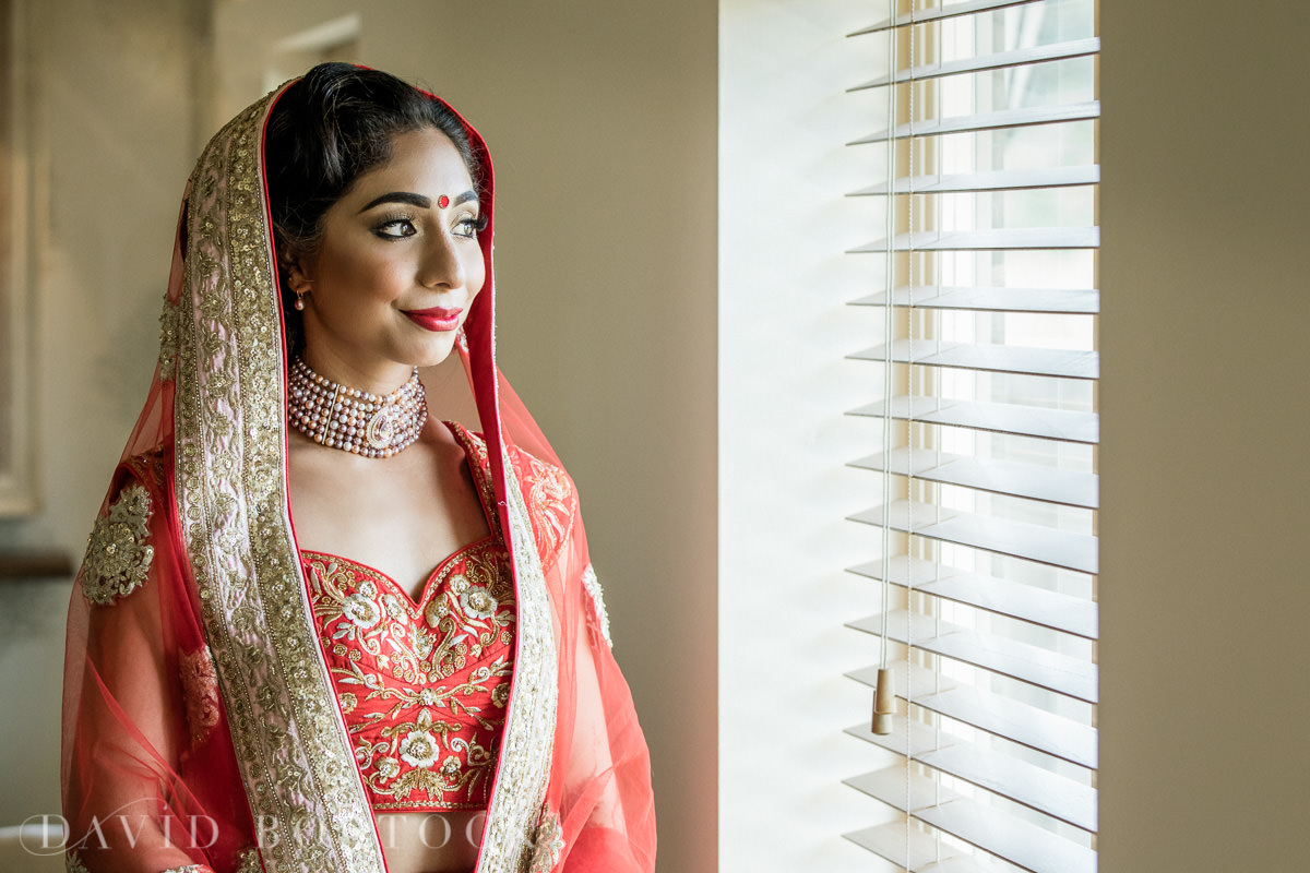 Caswell House wedding Indian bride