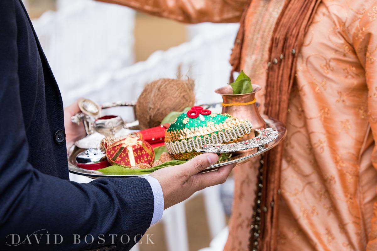 Caswell House wedding Hindu details