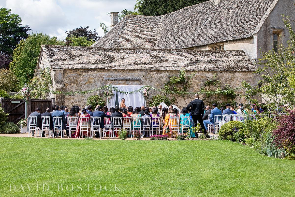 Caswell House wedding outdoor wedding