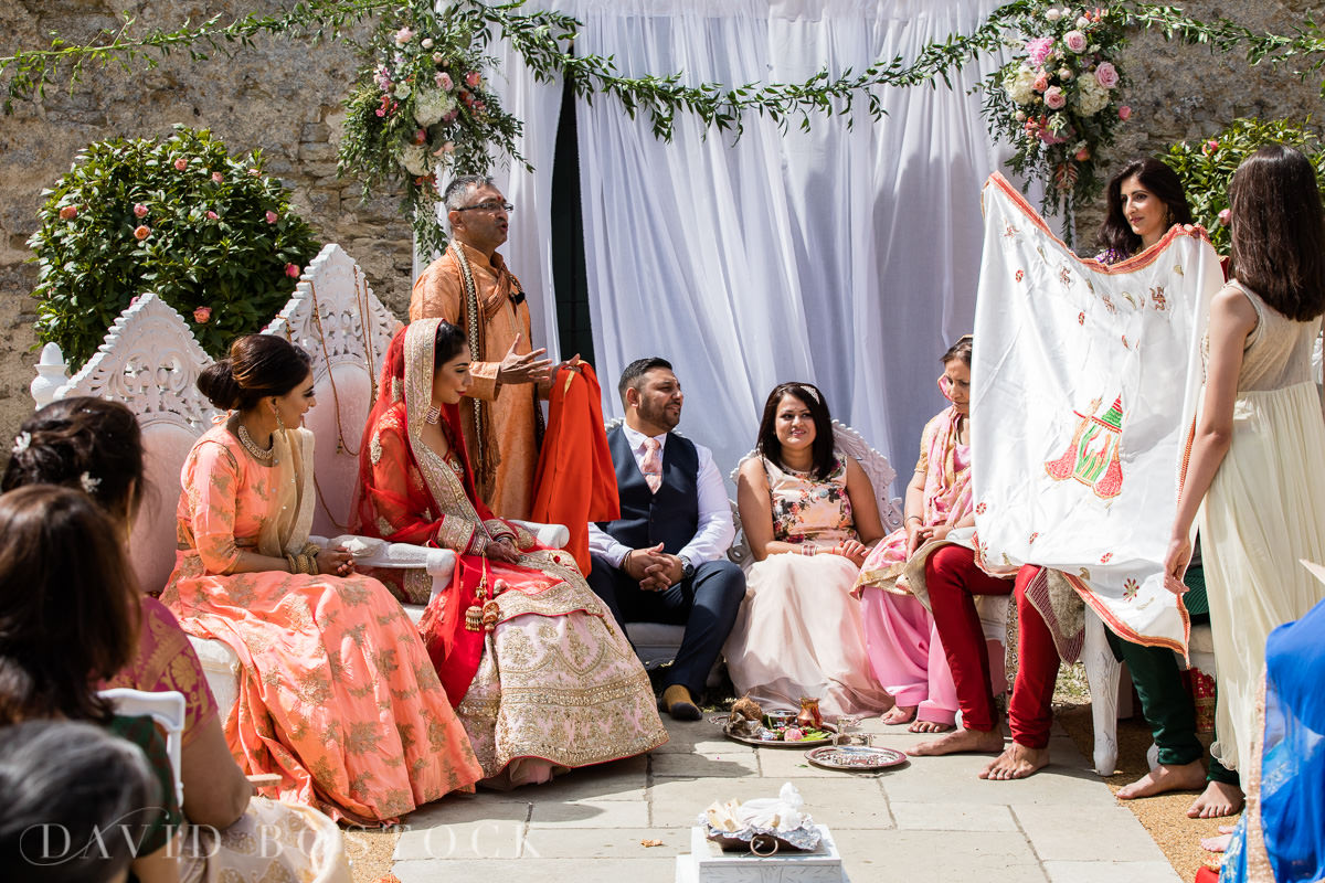 Caswell House wedding Hindu ceremony