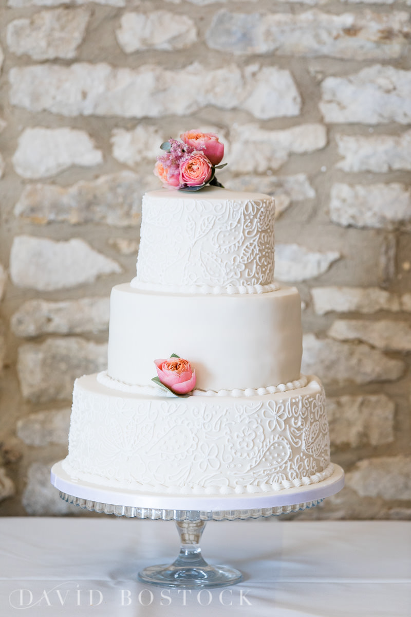 Caswell House wedding cake