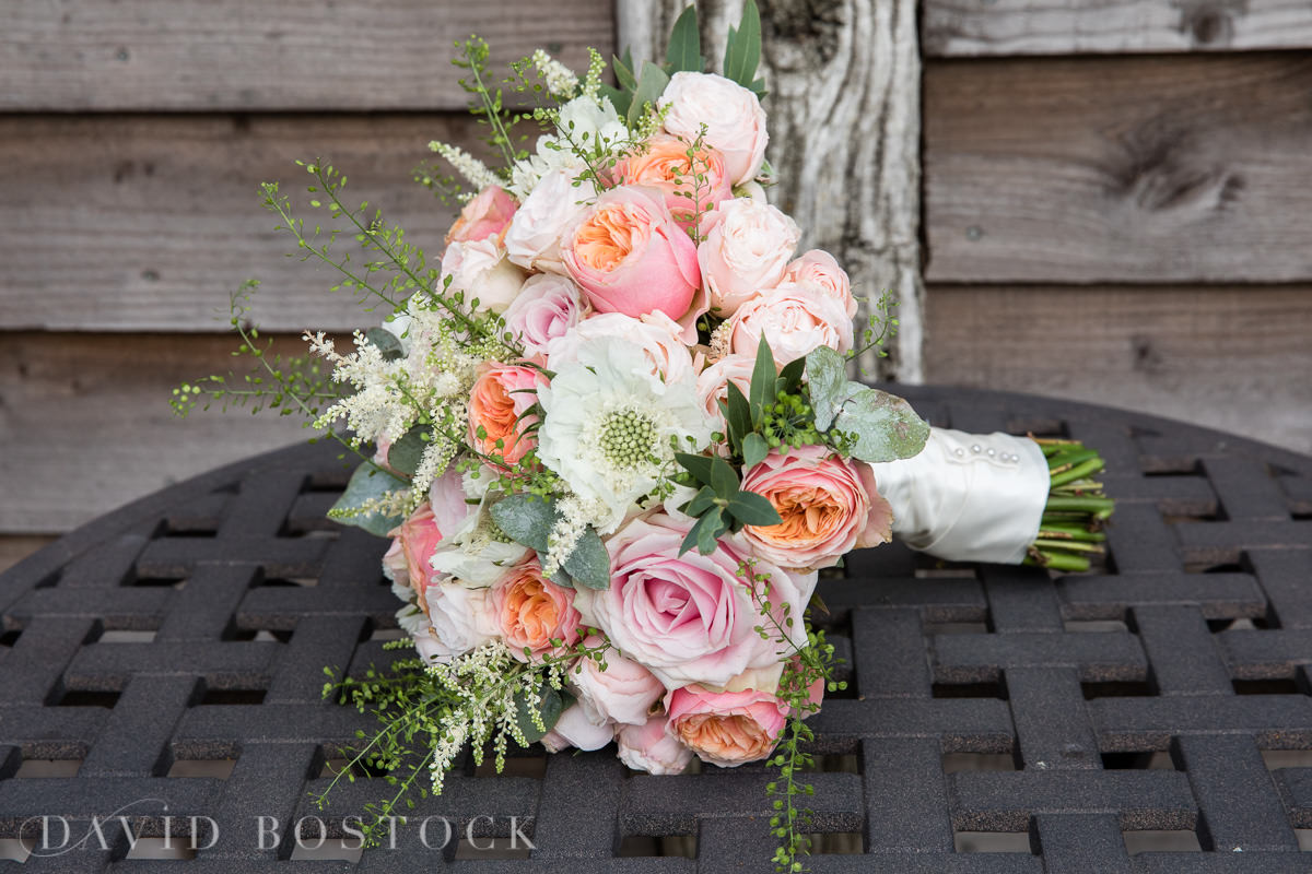 Caswell House wedding bouquet