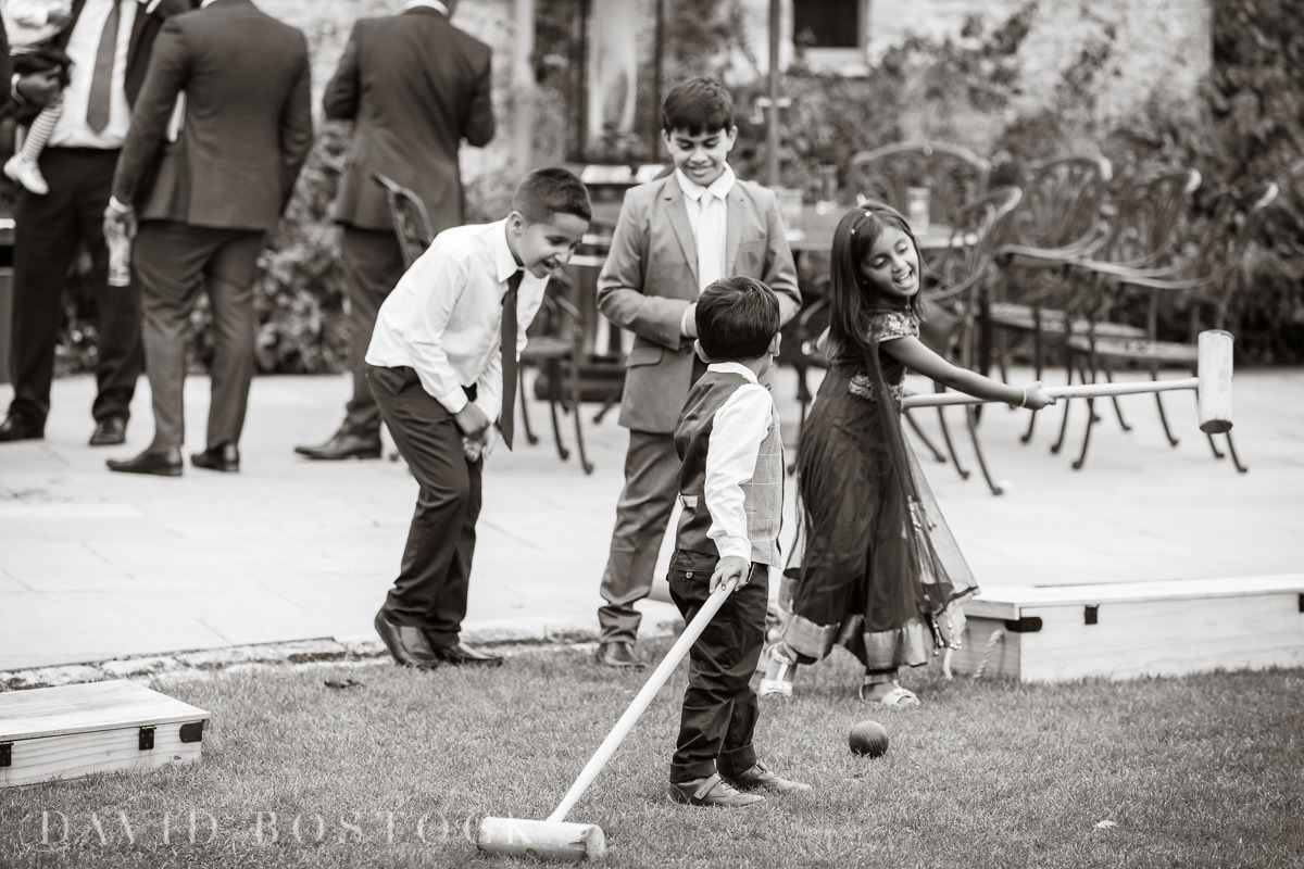Caswell House wedding outdoor games