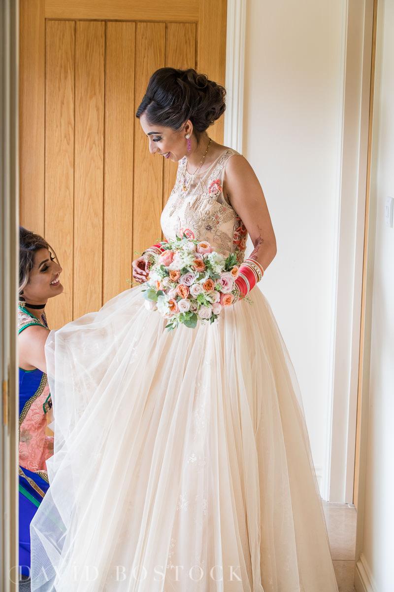 Caswell House wedding beautiful bride