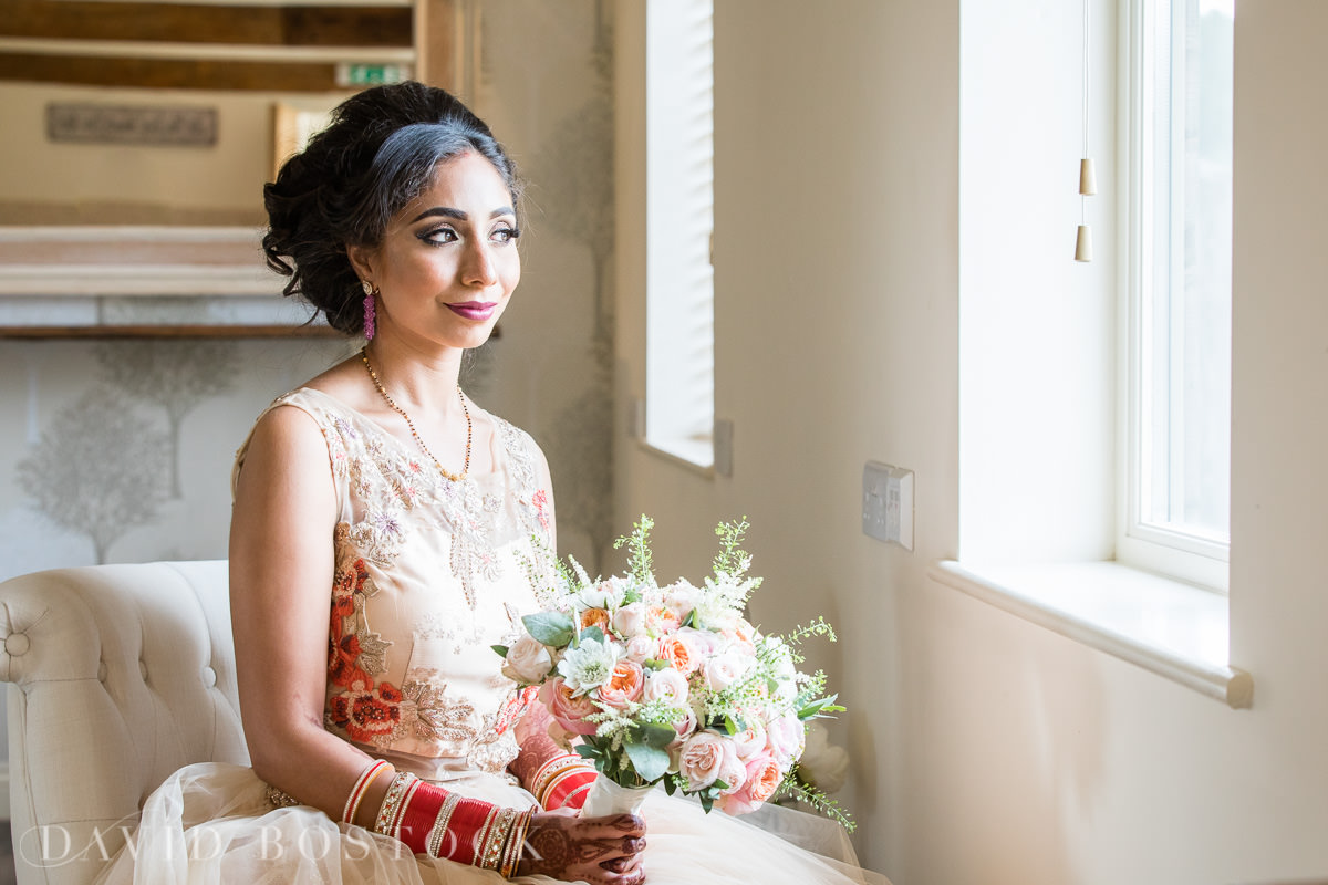 Caswell House wedding bridal portrait