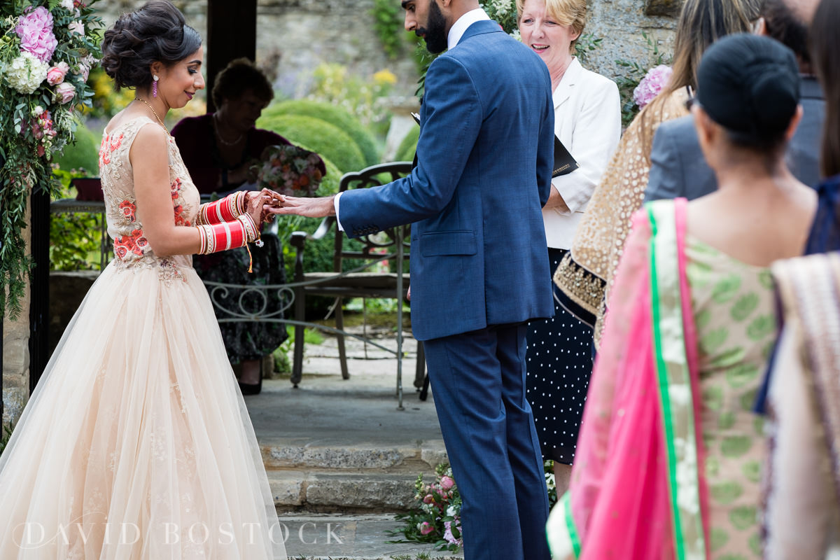 Caswell House wedding vows