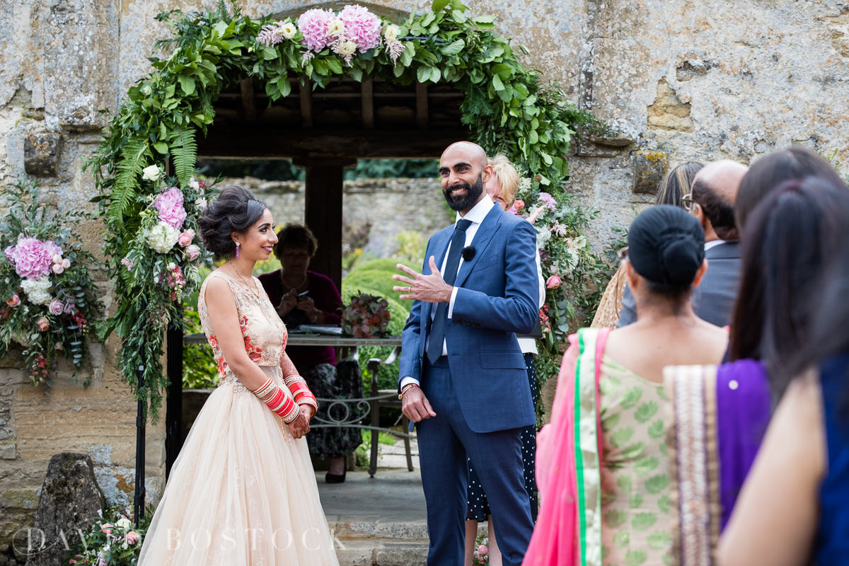 Caswell House wedding just married