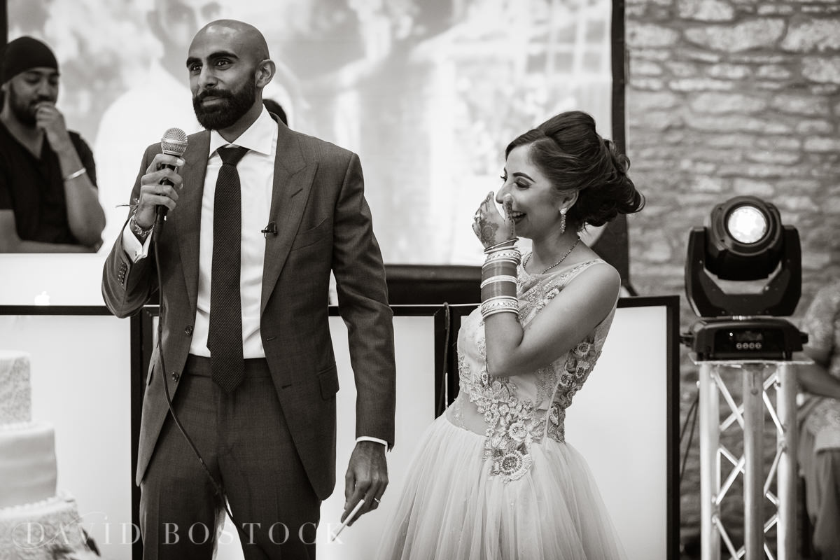 Caswell House wedding funny speeches