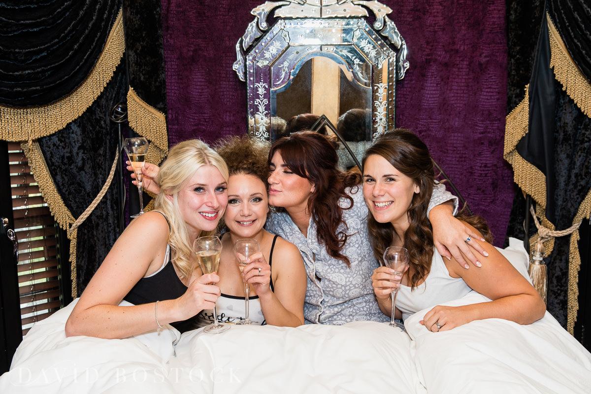 The Crazy Bear bridesmaids