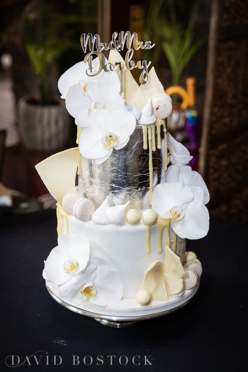 The Crazy Bear wedding cake