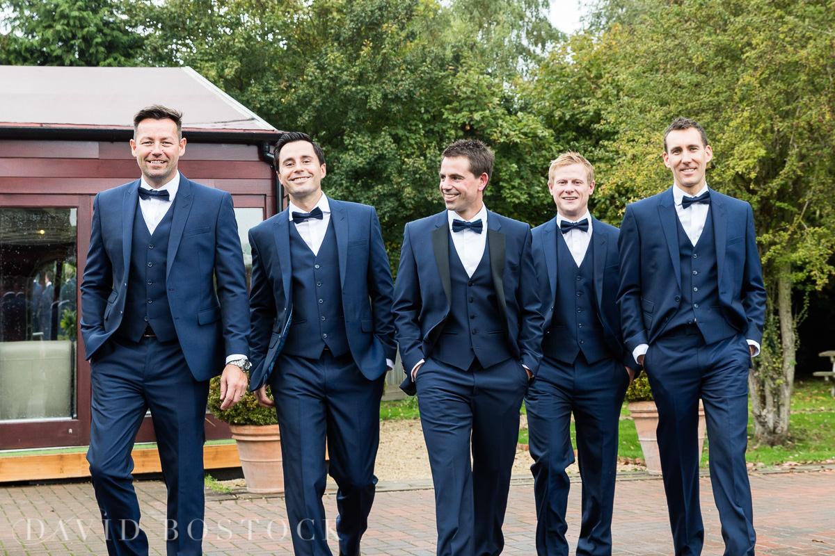 The Crazy Bear groomsmen