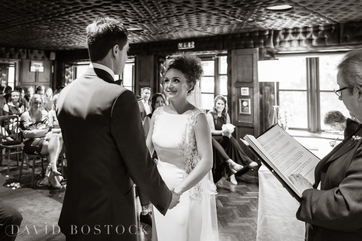 The Crazy Bear wedding ceremony