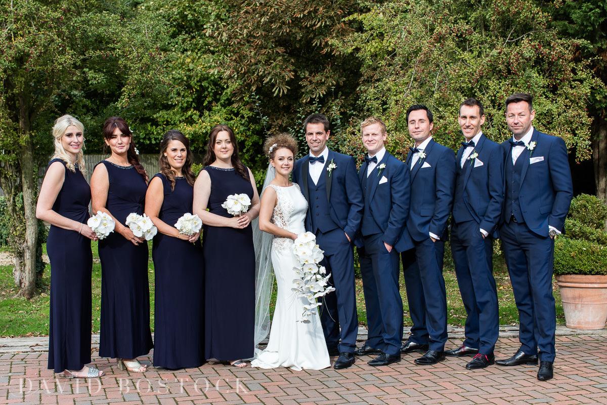 The Crazy Bear wedding party