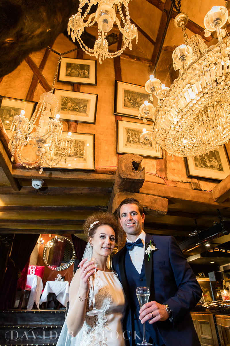 The Crazy Bear wedding glamour