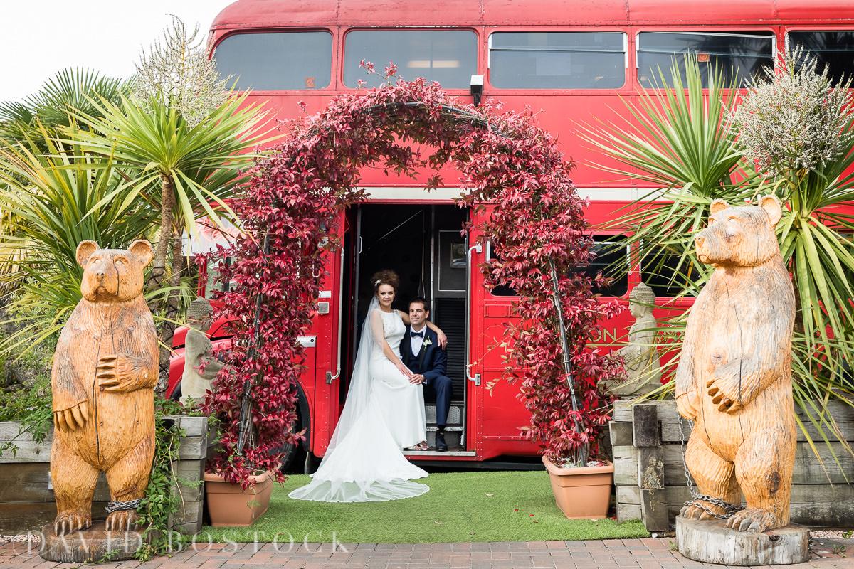 The Crazy Bear London bus