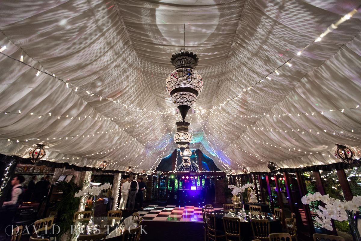 The Crazy Bear glamorous dance floor