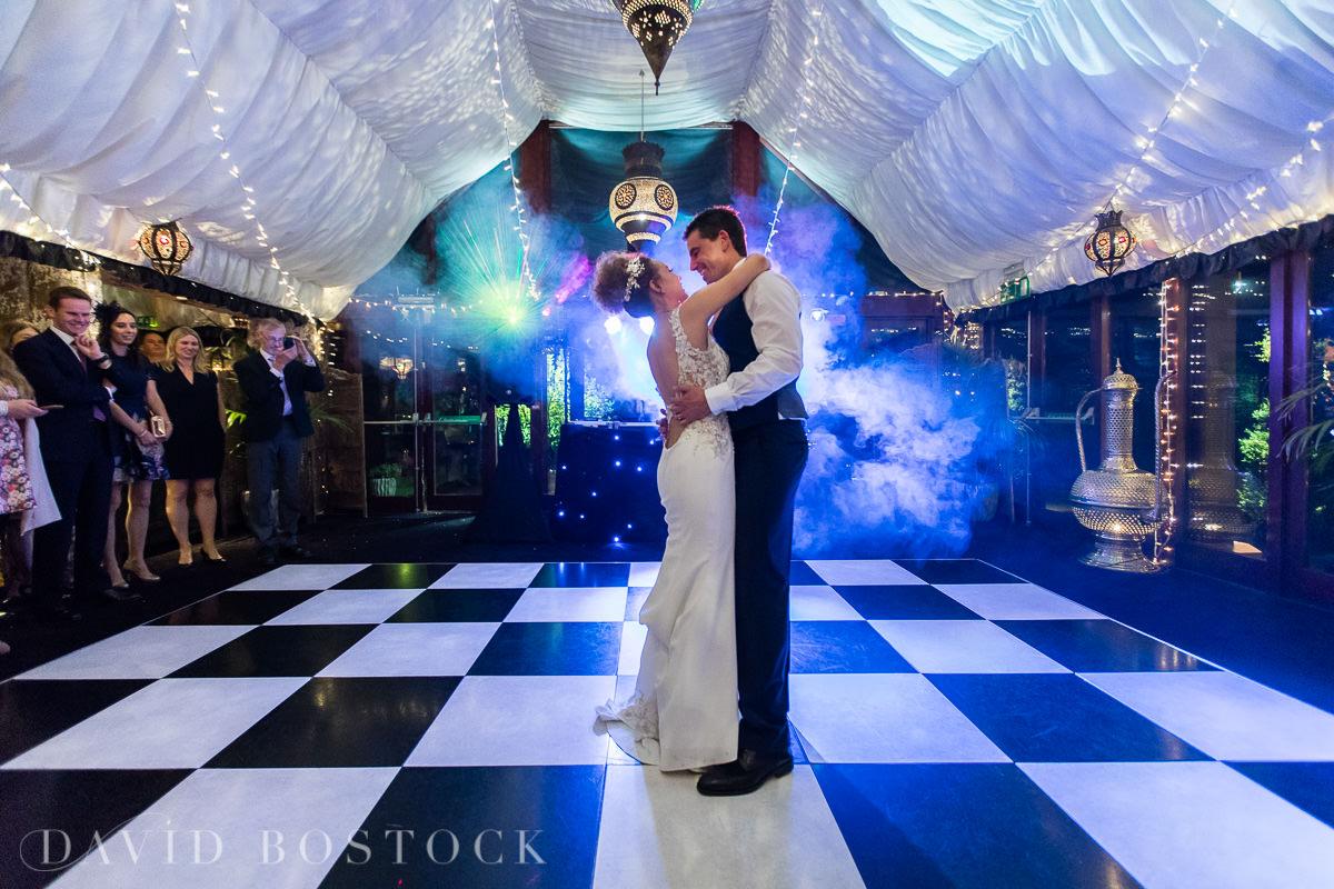 The Crazy Bear wedding first dance