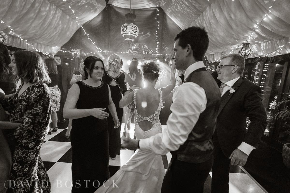 The Crazy Bear wedding disco