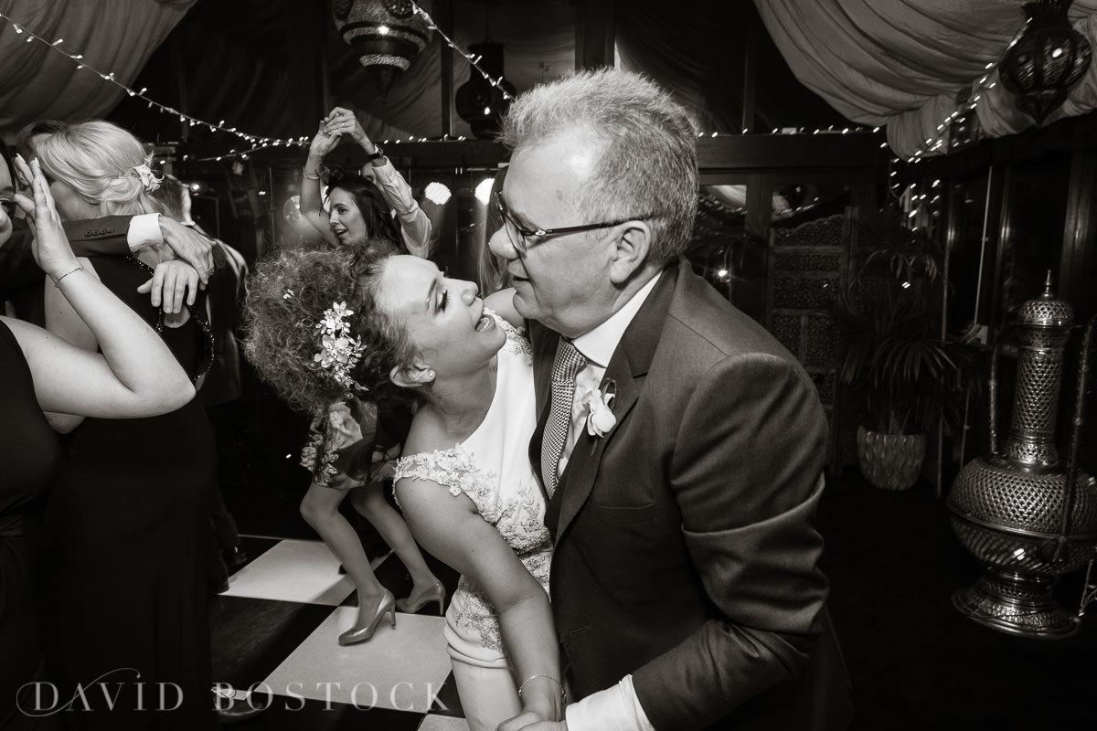 The Crazy Bear fun wedding disco