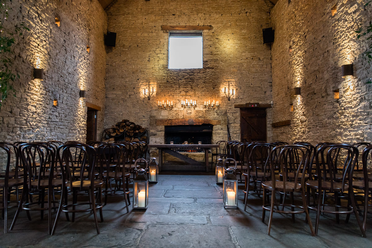 Cripps Barn wedding Cotswolds venue