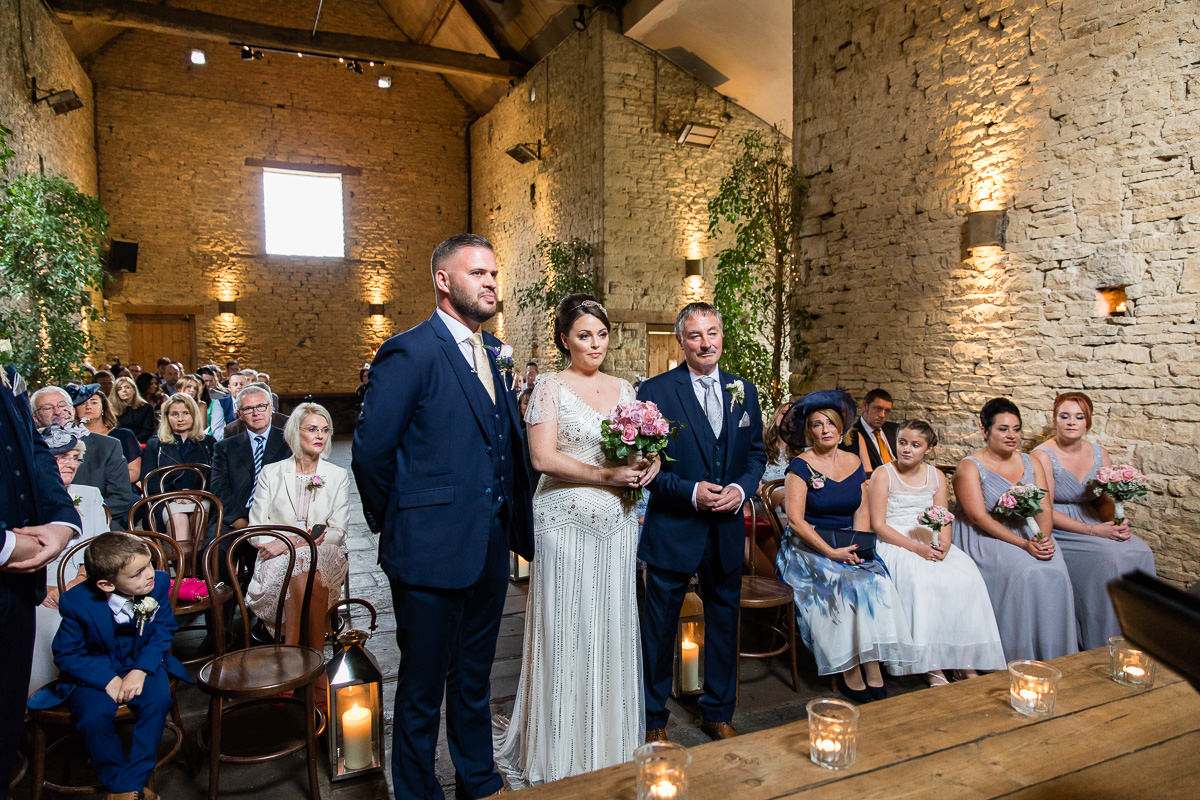 Cripps Barn wedding ceremony